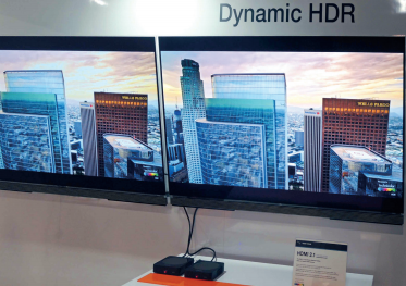 Demonstration of Dynamic HDR Content over HDMI at CES 2017