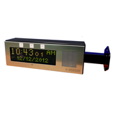Wall Mounted Hallway Dual Sided IP Clock and Paging System